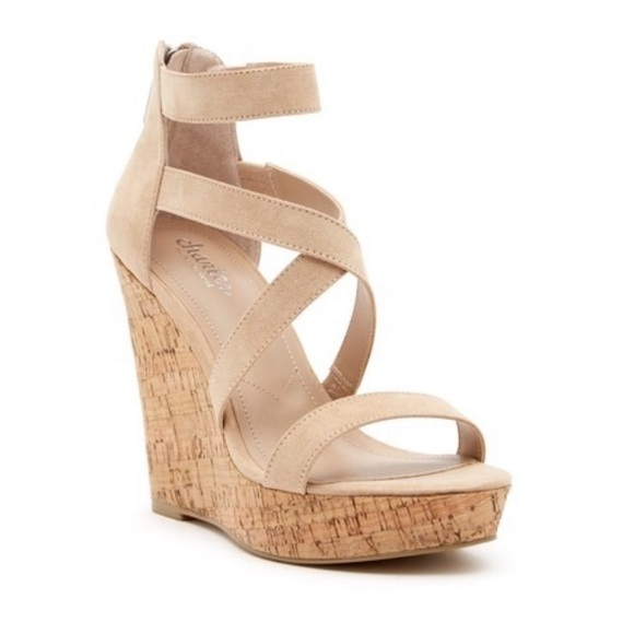 a1484d233ced Charles David Alexa Strappy Wedge Sandals
